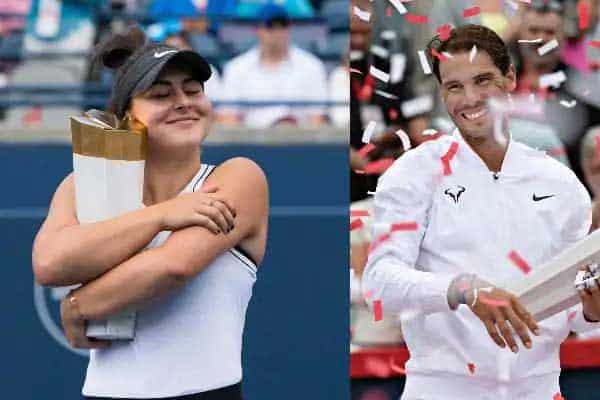 Nadal y Andreescu – Los grandes ganadores del US Open