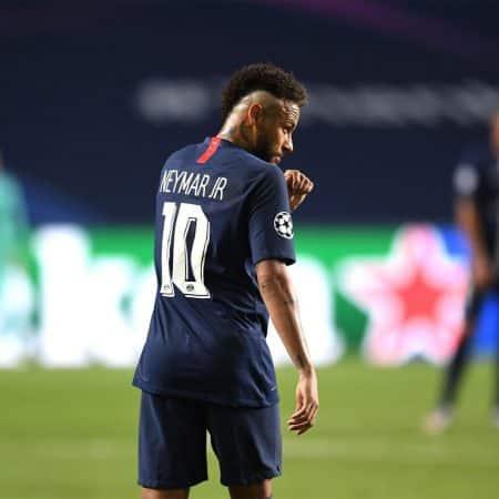 Neymar Llorando – Bayern Campeón de la Champions