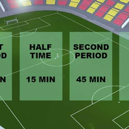 Cómo apostar al descanso (HT) en partidos de fútbol