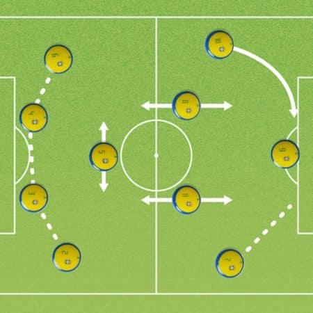 Variable Táctica en análisis de fútbol